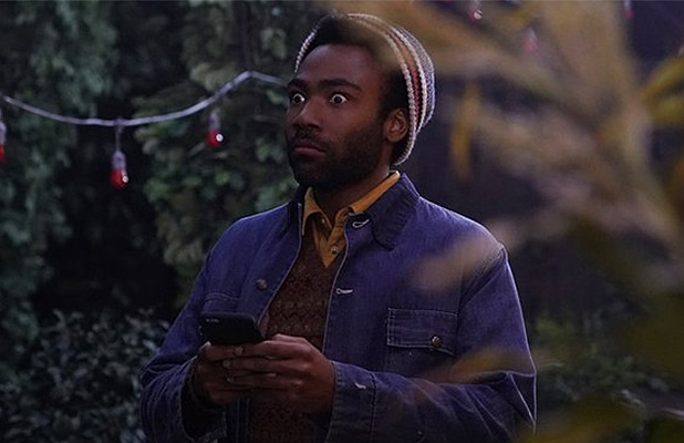 Donald Glover appeared on Saturday Night Live as guest host and musical performer, on Saturday, May 5, 2018. (Credit: NBC/YouTube)