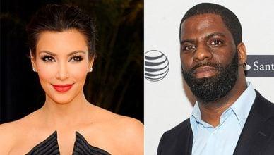 Kim Kardashian and Rhymefest (Deposit Photos and Handout)