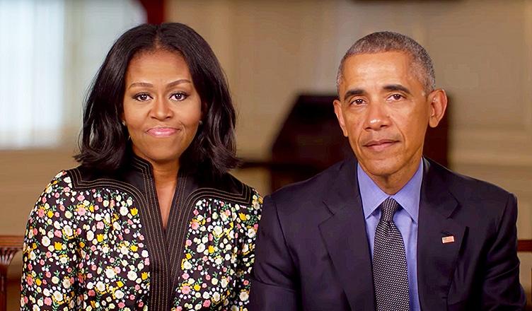 Michelle Obama and Barack Obama at White House (Credit: WhiteHouse.Gov)