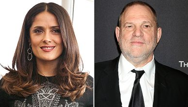 Salma Hayek and Harvey Weinstein (Credit: Deposit Photos)