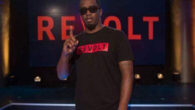 Sean Combs is shown at a Revolt event. (Credit: Adrien Vargas/Revolt)