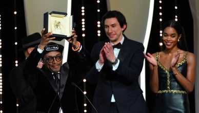 Spike Lee won the Grand Prize at the 2018 Cannes Film Festival (Credit: YouTube)