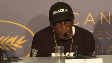 Spike Lee Press Conference at Cannes (Credit: YouTube)