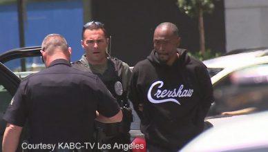Darris Love Arrest (Credit: KABC-TV)