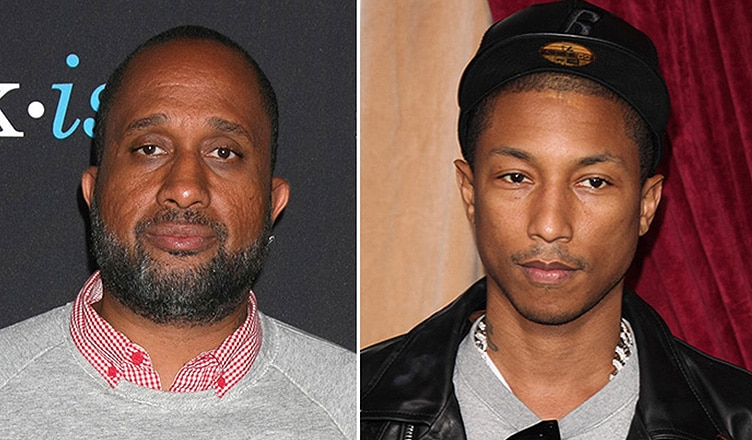 Kenya Barris and Pharrell Williams (Credit: Deposit Photos)