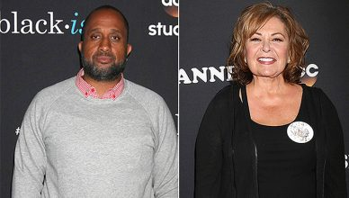 Kenya Barris and Roseanne Barr (Credit: Deposit Photos)
