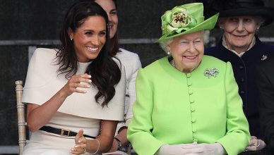 Meghan Markle and Queen Elizabeth Royal Engagement (Credit: Twitter/@KensingtonRoyal Follow Follow @KensingtonRoyal)