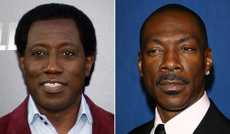 Wesley Snipes and Eddie Murphy (Credit: Deposit Photos)