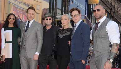 Guardians of the Galaxy Cast and Director (Credit: Deposit Photos)
