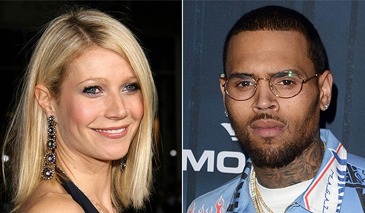 Gwyneth Paltrow and Chris Brown (Credit: Deposit Photos)