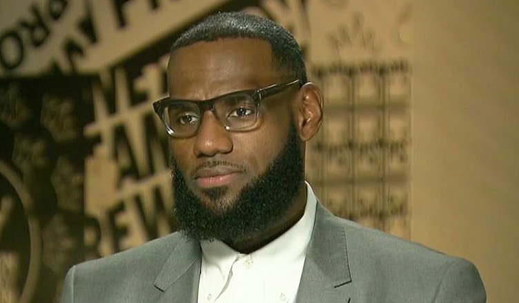 LeBron James on CNN (Credit: CNN)