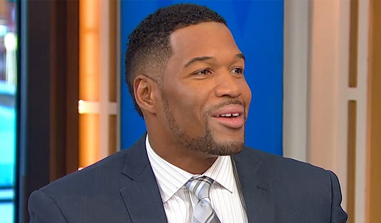 Michael Strahan on GMA (Credit: ABC)