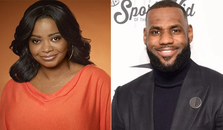 Octavia Spencer and LeBron James (Credit: Netflix and Deposit Photos)