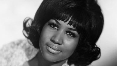 Aretha Franklin Stock Photo