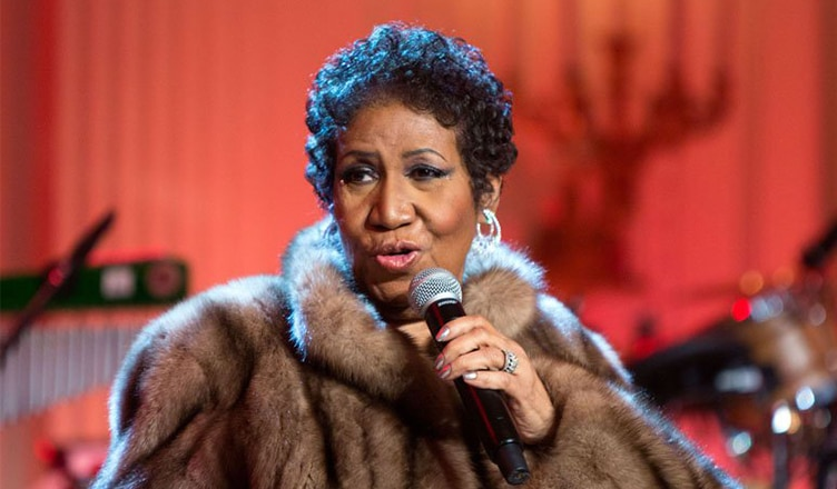 Aretha Franklin (Credit: YouTube)