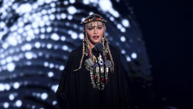 Madonna VMAs Tribute to Aretha Franklin (Credit: YouTube)