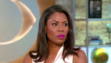 Omarosa Appearance on CBS This Morning (Credit: CBS)