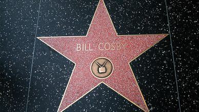 Bill Cosby's star on the Hollywood Walk of Fame. (Credit: Deposit Photos)