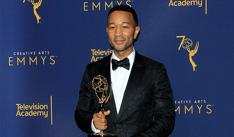 John Legend won an Emmy Award on Sunday, Sept. 9, 2018. (Credit: Deposit Photos)