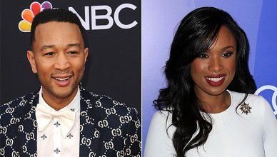 John Legend and Jennifer Hudson (Credit: Deposit Photos)