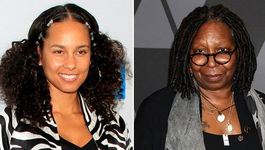 Alicia Keys and Whoopi Goldberg (Credit: Deposit Photos)