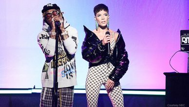 Lil Wayne and Halsey Perform on SNL (Credit: NBC)