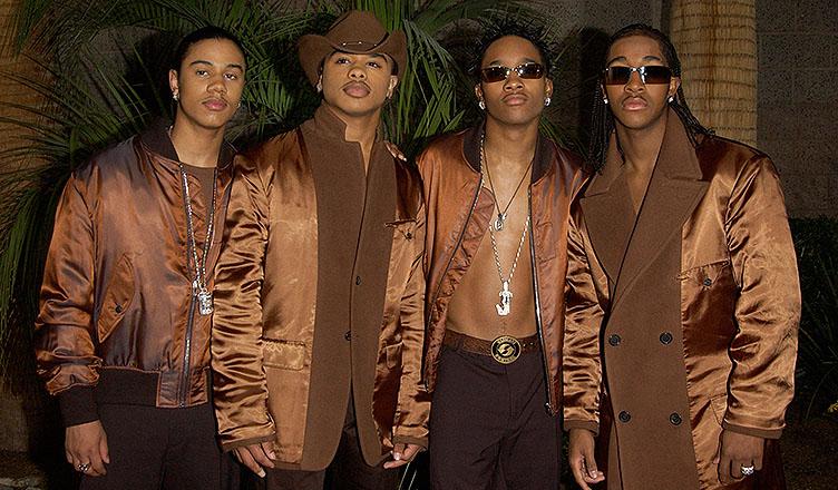 B2K at the 2002 Billboard Music Awards at the MGM Grand, Las Vegas. 09DEC2002. (Credit: Shutterstock)