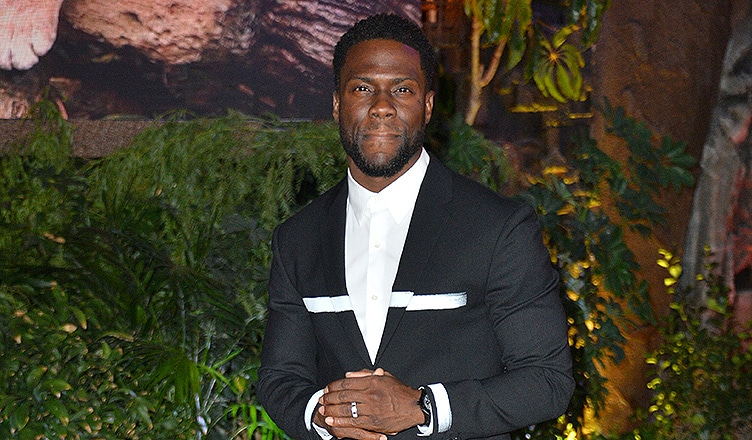 "Kevin Hart (LOS ANGELES, CA. December 11, 2017: Kevin Hart at the Los Angeles premiere of ""Jumanji: Welcome To the Jungle"" at the TCL Chinese Theatre, Hollywood/Shutterstock)"