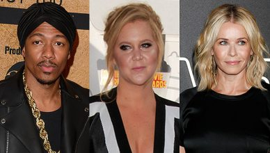 Nick Cannon Amy Schumer Chelsea Handler (Credit: Deposit Photos)