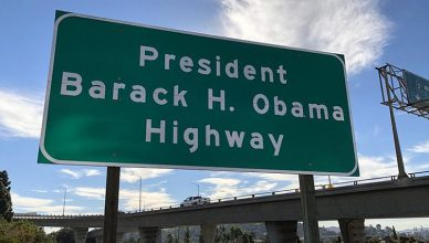 Obama Freeway (Credit: SD25.senate.ca.gov)