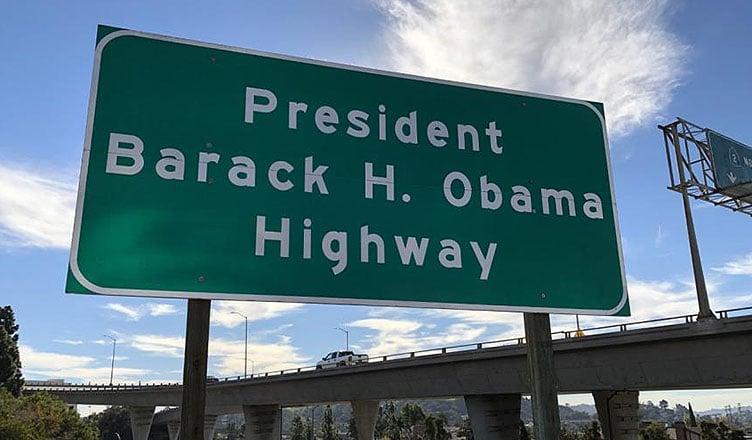 Obama Freeway (Credit: SD25.senate.ca.gov)