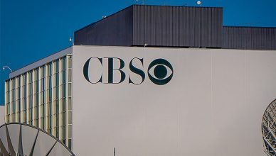 os Angeles, California, USA, AUGUST, 20, 2018: CBS logo on a building in Los Angeles, California. (Credit: Deposit Photos)