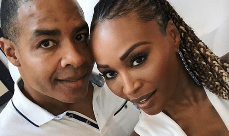 Mike Hill and Cynthia Bailey. (Credit: @itsmikehill/Instagram)