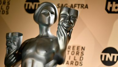 SAG Awards Statue (Credit: Shutterstock)