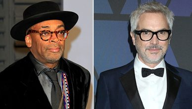 Spike Lee and Alfonso Cuaron (Credit: Deposit Photos)