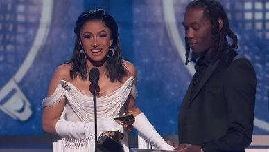 Cardi B won the best rap album Grammy Award on Sunday, Feb. 10, 2019. (Credit: YouTube/ Recording Academy / GRAMMYs)