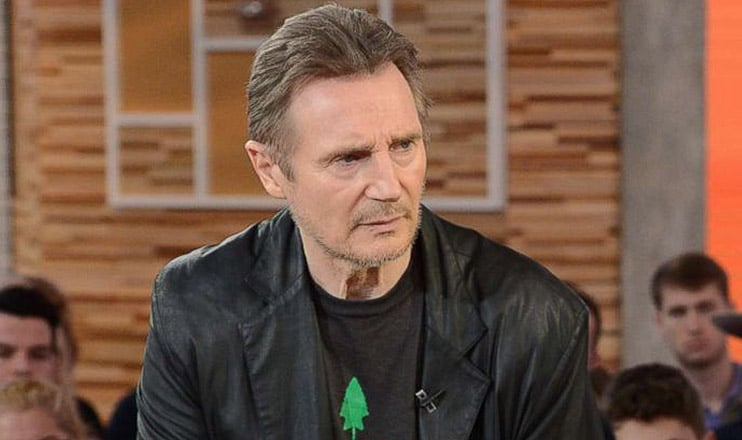 """Liam Neeson appears on """"Good Morning America"""" (Credit: ABC)"""