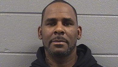 R. Kelly Booking Photo (Credit: Chicago PD)