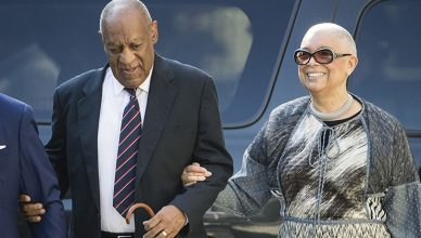 Camille Cosby accompanies Bill Cosby to court in September 2018. (Credit: YouTube)