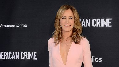 "Actress Felicity Huffman — Stock Photo Felicity Huffman at the ""American Crime"" FYC Event, Television Academy, North Hollywood, CA 04-29-17 — Photo by s_bukley"