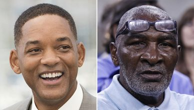 Will Smith and Richard Williams are shown. Credit: Shutterstock)