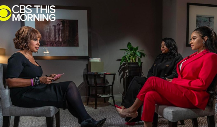 R. Kelly's girlfriends spoke to Gayle King in March 2019.: CBS This Morning