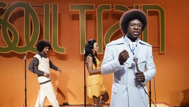 "Sinqua Walls as Don Cornelius from BET's ""American Soul"" (Photo: Jace Downs/BET)"