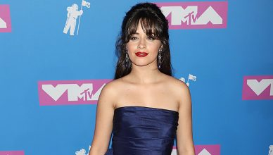 : Camila Cabello attends the MTV Video Music Awards at Radio City Music Hall on August 20, 2018, in New York. (Credit: Shutterstock)