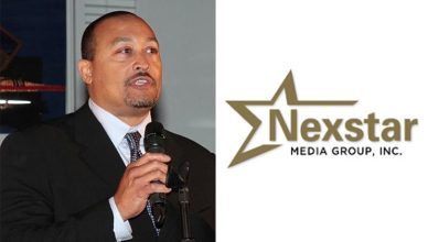 Pluria Marshall Jr and Nexstar Media Logo (Credit: LinkedIn and Nexstar)