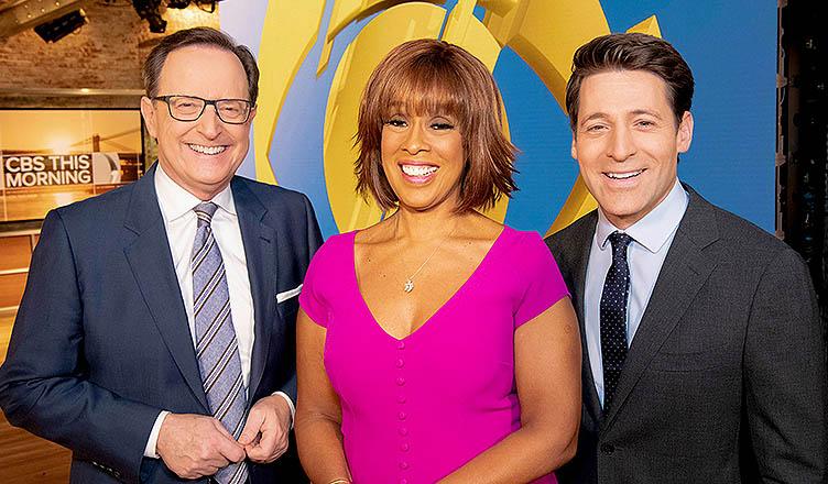 CBS This Morning 2019 Cast. (Credit: CBS)
