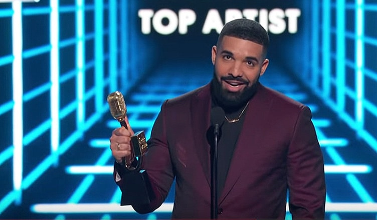 Drake Billboard Music Awards (Credit: YouTube/NBC)