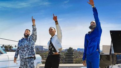 Higher music video features DJ Khaled, John Legend and Nipsey Hussle. (Credit: YouTube)