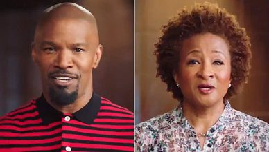 Jamie Foxx and Wanda Sykes in The Jeffersons Preview (Credit: ABC)