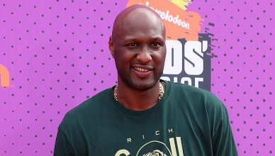 Lamar Odom at the Nickelodeon Kids' Choice Sports Awards 2017 at the Pauley Pavilion on July 13, 2017 in Westwood, CA. (Credit: Jean Nelson/Deposit Photos)